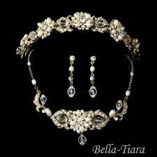 vintage wedding jewelry tiara bridal jewelry accessories used tiara bridal