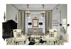 mary mcdonald mary mcdonald black white and gold by aliciakingsleydesign