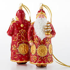 breen mid century santa ornament the museum shop of the