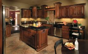 paint colors for kitchens with dark cabinets home living store