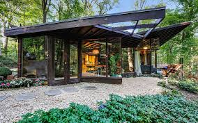Usonian House Property Of The Week A Woodland Home In Usonia New York