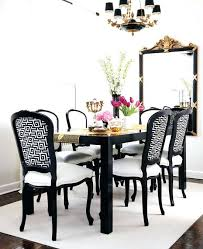 black and white dining room ideas black and white dining room chairs schulztools org