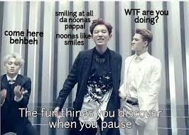Exo Meme - exo meme pause video