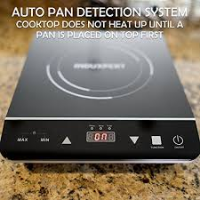 What Is A Cooktop Stove Amazon Com Induxpert Portable Induction Cooktop 1800w With Power