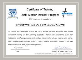 magnum installer training