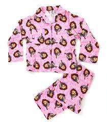 childrens boys disney 100 cotton fleece pyjamas pjs