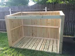 how to build a trash can shed plans available