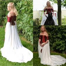 renaissance wedding dresses renaissance 2017 wedding dresses a line burgundy white