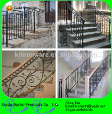 modern design ornamental metal stairs and wrought iron stair