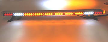 orange led light bar led light bar multi function 50 inch 505 light bar amber with brake