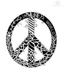 peace sign design