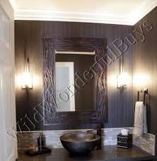 Bronze Bathroom Mirrors by Woven Wall Mirror Bronze Bathroom Vanity Metal Coastal Decor Large