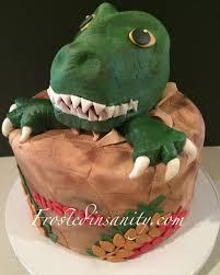 dinosaur cakes frosted insanity dinosaur cake