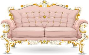 Pink Sofa Com Free Vector Graphic Couch Sofa Loveseat Pink Ornate Free
