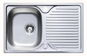 Astracast Parallel  X Mm Single Bowl Compact Kitchen Sink - Compact kitchen sinks stainless steel