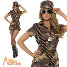 camo halloween costumes for womens army costume soldier fancy dress military uniform