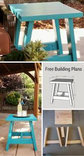 Plans For Building A Wooden Patio Table by Build A 2x4 Outdoor Table With My Free Plans Small Home Soul