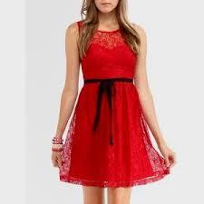 red lace dress forever 21 naf dresses