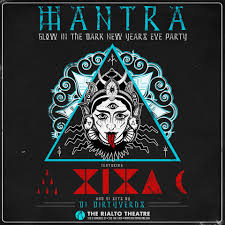 the rialto theatre mantra glow in the dark nye party with xixa