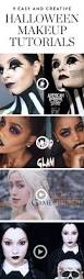 Easy Halloween Makeup Tutorials by 306 Best Makeup Halloween Images On Pinterest Make Up Fx Makeup