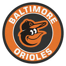3 Round Area Rugs by Orioles Logo Roundel Mat 27
