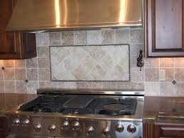 image of kitchen backsplash ideas with granite countertops hanged small kitchen decoration using light brown stone tile kitchen stove backsplash including dark mahogany