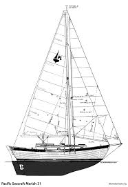13 best sailboats 31 u0027 pacific seacraft mariah 31 images on