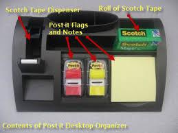 Post It Desk Organizer Keep Your Desktop Clean With A Post It Desktop Organizer