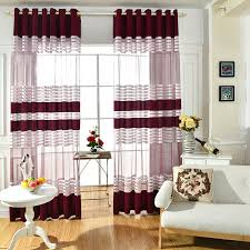 enchanting red and white striped curtains and wide array in black