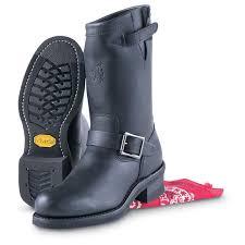 womens biker boots cheap women u0027s chippewa engineer boots black 102482 motorcycle