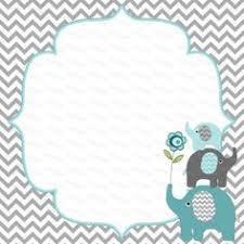 printable baby shower invitations printable elephant baby shower invitations printable elephant baby