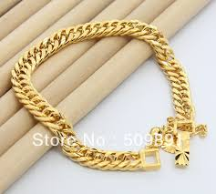 ba1191 fashion jewelry 24 carat gold colou 8mm snake chain