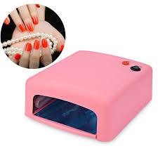 36w uv lamp 110v 220v 240v curing light nail art tools gel