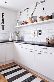 Black Kitchen Rugs Winsome Design Black And White Kitchen Rug Simple Ideas Rugs In