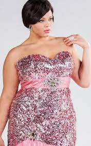 plus size pink party dresses pluslook eu collection