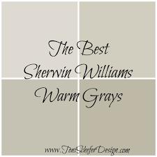 best sherwin williams warm grays