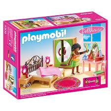 chambre jouet 5309 chambre d adulte avec coiffeuse playmobil dollhouse playmobil
