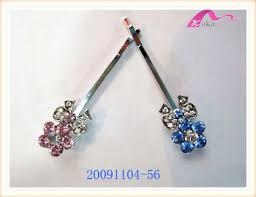 decorative bobby pins fancy kids bow tie flower decorative hair bobby pins
