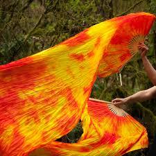 silk fans opal silk veil fans festival flow moodhoops