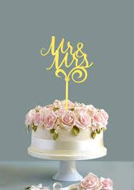 mrs mrs cake topper wedding cake topper mr mrs cake topper gold cake topper