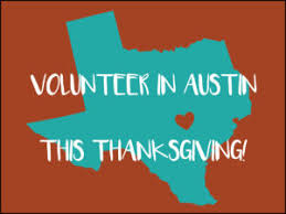 thanksgiving volunteer opportunities in