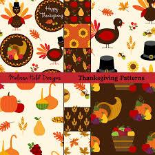 thanksgiving patterns mygrafico