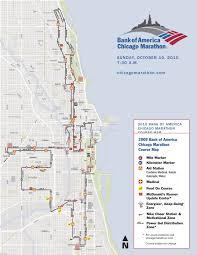 Chicago Magnificent Mile Map by Chicago Marathon 2015 Race Recap Running Wild