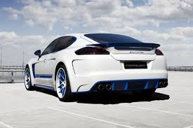 Porsche Panamera Facelift - porsche panamera stingray exclusive blue detailing topcar