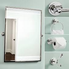 Pivot Bathroom Mirror Amelie Rectangular Pivot Mirror Ballard Designs
