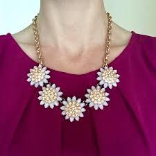 light pink necklace images Jewelry super cute light pinkpurple fashion necklace poshmark jpg