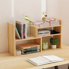 Small Desk Bookshelf Creative Computer Desk Bookshelf Simple Shelf Small Office Storage