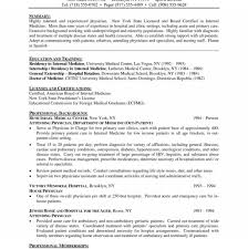 curriculum vitae for students template observation medical resume exle sle curriculum vitae doctor http