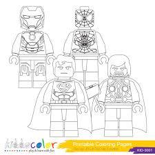 Coloriage Iron Man gratuit à imprimer