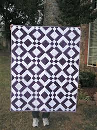 the fleming u0027s nine two color quilt purple